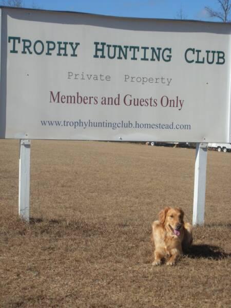 Trophy hunting club for Renew ga fishing license